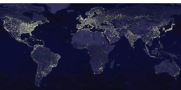 Satellite Picture of Africa Electrification