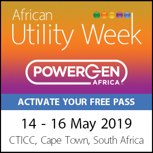 Africa Utility Week - May 2019 - Cape Town, South Africa