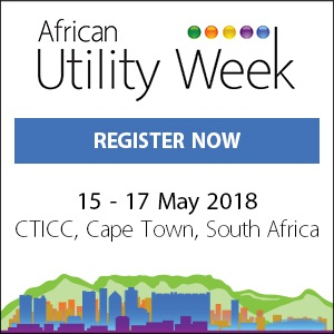 BOOK YOUR PLACES FOR Africa Utility Week - MAY 2018 - CAPE TOWN