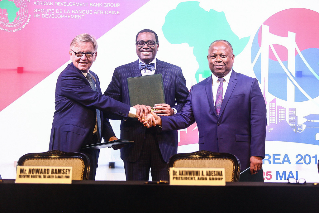 AfDB, GCF, Africa 50 sign collaboration agreement in Busan, Korea