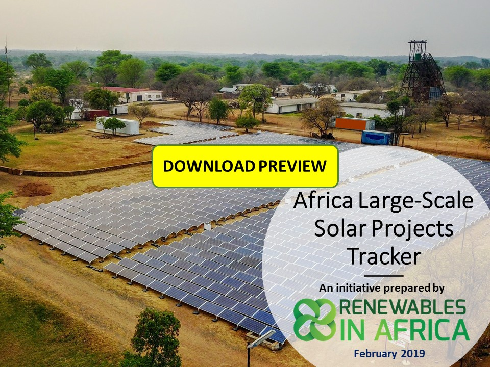 Africa Utility Solar Projects Tracker 2019 Preview Draft - The Africa Large-Scale Solar Projects Tracker