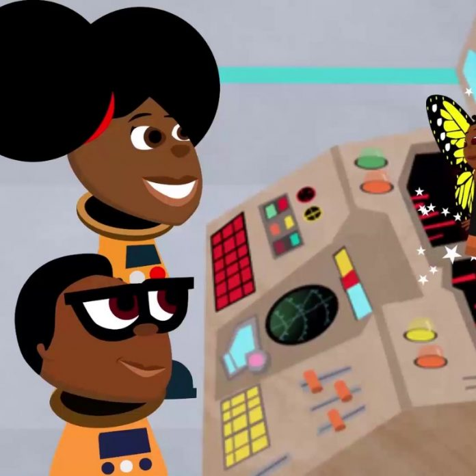 Bino and Fino Cartoon Renewables African culture