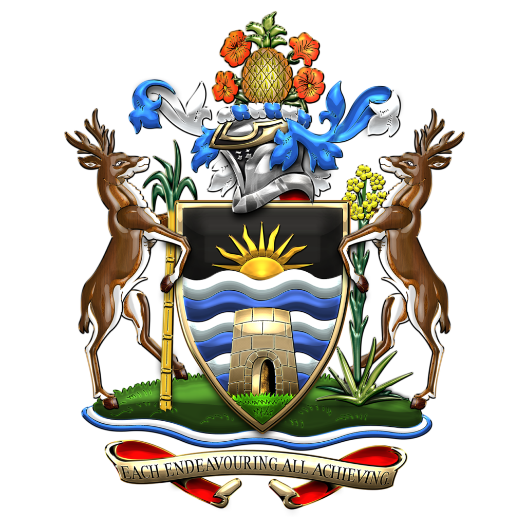 Coast of Arms of Antigua and Barbuda