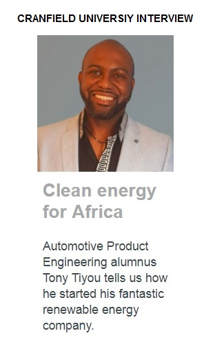 Cranfield Interview - Featured In
