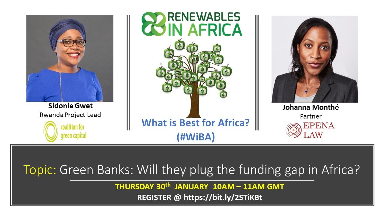 Green Banks in Africa Webinar - Home