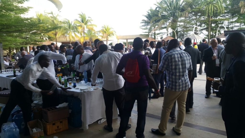 Break and refreshments at Future Energy Nigeria 2017