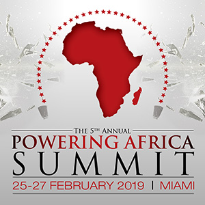 The 5th Annual Powering Africa Summit - February 2019 - Miami, USA