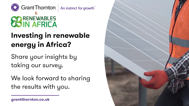 Take the 2018 Grant Thornton / Renewables in Africa Renewable Energy Discount Rate Survey