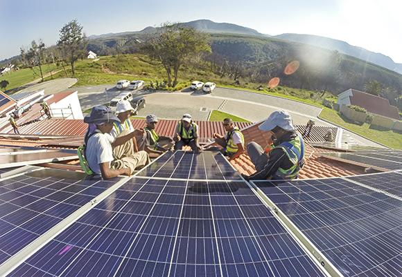 SAPVIA Genergy solar pv installation training - Digitalising Solar Training in Africa - A conversation with Niveshen  Govender, SAPVIA COO