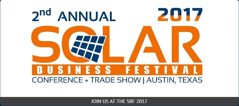 Solar Business Festival - November 2017 - Texas
