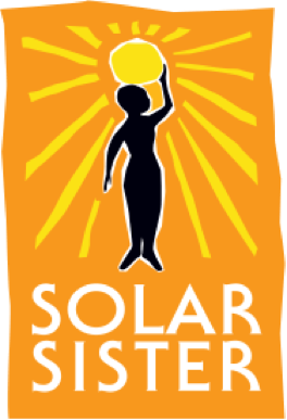 Solar Sister logo - TEDx speaker and Solar Sister manager, Olasimbo tells her wins and challenges