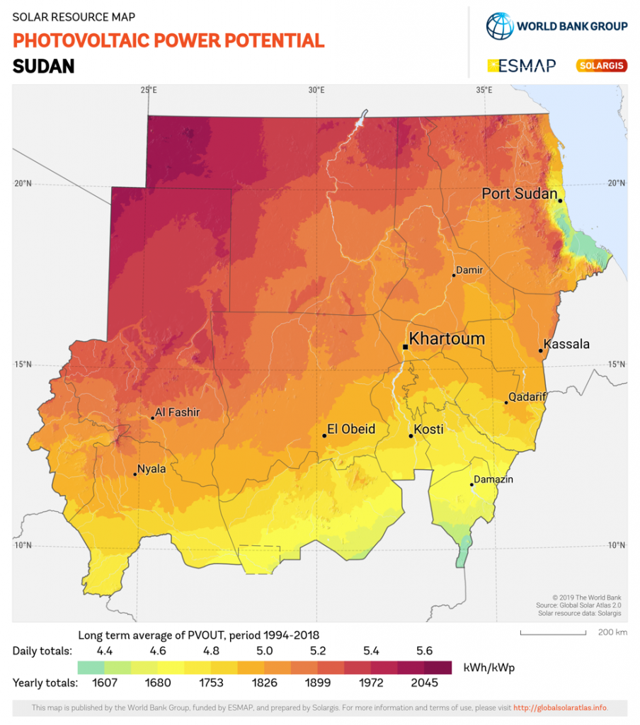 Sudan Map Picture 904x1024 - Renewable Energy in Sudan: Status and Potential - Part 1