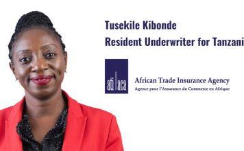 Tuselike Kibonde, Resident Underwriter, ATI, Tanzania