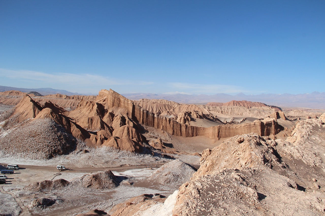 Valley of the moon Atacama Desert