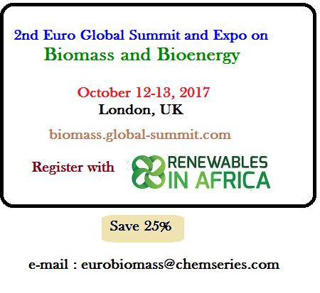 Biomass and Bioenergy Summit London October 2017